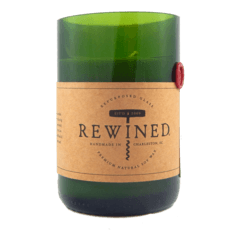 Rewined Wine Bottle Soy Candle