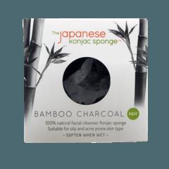 Facial Konjac Sponge Bamboo Charcoal